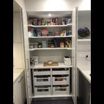 Bi fold pantry doors for kitchen renovation in Breakfast Point