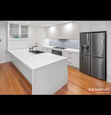 white kitchen renovation design putney