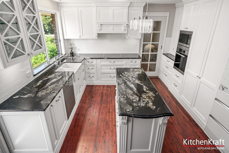Kitchen Renovation with an Island Design