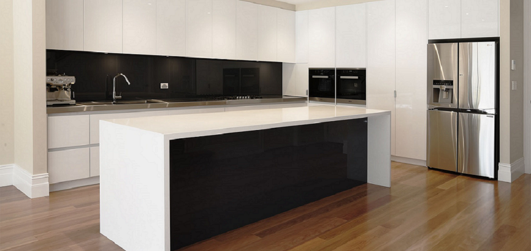 Black and White Kitchen Renovations Sydney